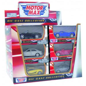 Store Metalbiler 24 Stk.