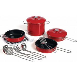 Rødt Køkkensæt