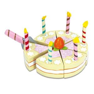 Honeybake Vanilje Fødselsdagskage