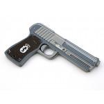 Politi-pistol i skum