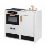 Brio - Komfur med vask, hvidt