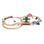 Togbane, stor, på rejse