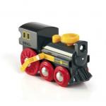 Gammelt damplokomotiv