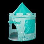 Pop-up telt blå/turkis